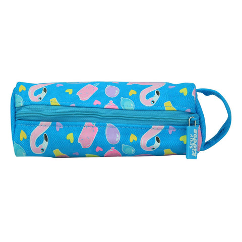 Smily Pencil Pouch Light Blue