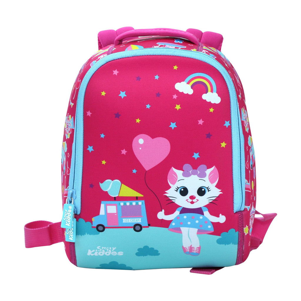 Smily Preschool Backpack (Pink)