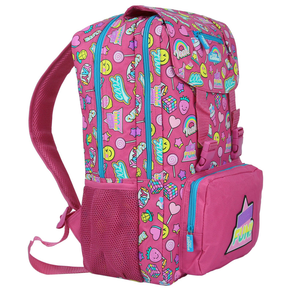 Smily Fancy Backpack (Pink)