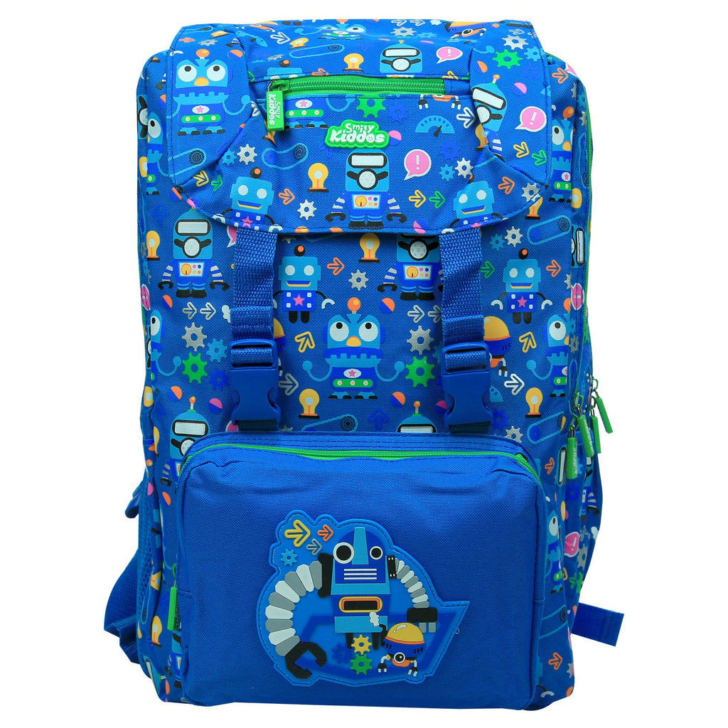 Smily Fancy Backpack (Blue)