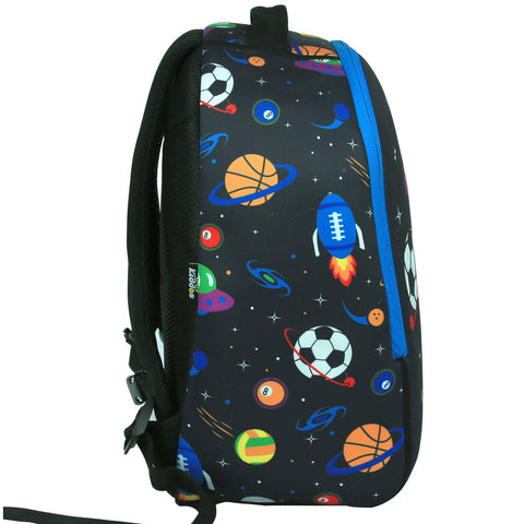 Smily Junior Backpack (Black) -School Bags For Toddlers