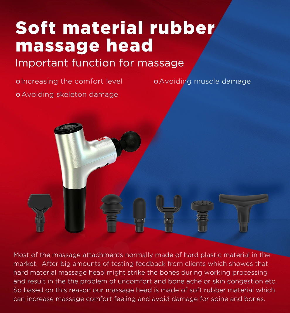 hi5 nova vibration massage device percussion set