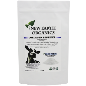 New Earth Organics Collagen Peptides 454g