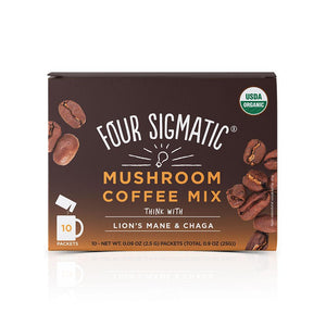 Four Sigmatic Coffee Mix THINK with Lion's Mane & Chaga
