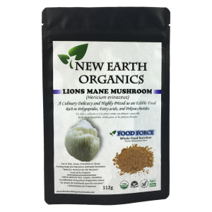 New Earth Organics Lion's Mane Powder