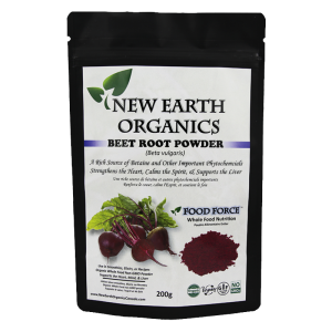 New Earth Organics Beet Root Powder
