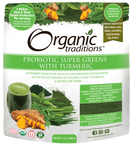 Organic Traditions Probiotics Super Greens