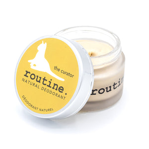 Routine Cream The Curator Baking Soda Free Deodorant