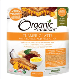 Organic Traditions Turmeric Latte