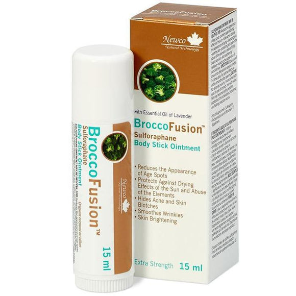 Newco Naturals BroccoFusion Body Stick Ointment 15ml
