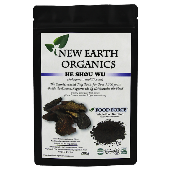 New Earth Organics He Shou Wu Powder 200g