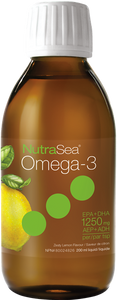 NutraSea Omega-3 Lemon 200ml