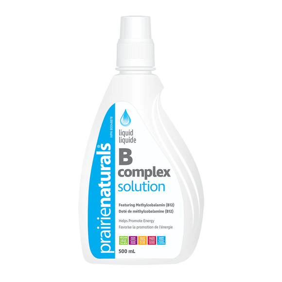 Prairie Naturals Liquid B Complex Solution