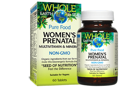 Whole Earth & Sea Prenatal Multivitamin 60tab
