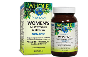 Whole Earth & Sea Women's Multivitamin & Mineral 60tab