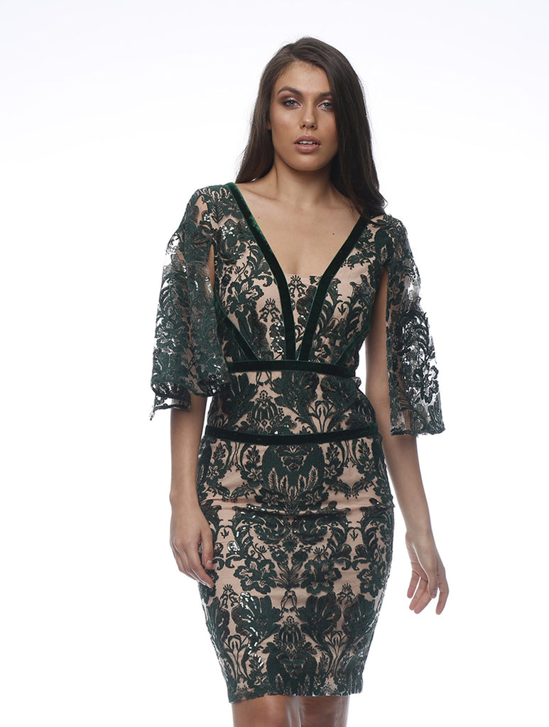 Eleonore Sequin Dress