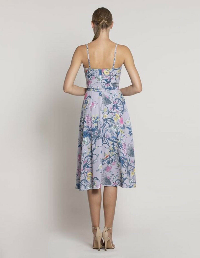 Aviation Cowl Print Dress