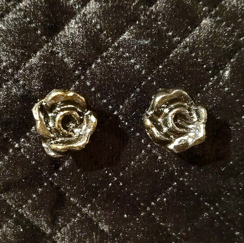 Roses are forever, earrings Boucles d'oreilles