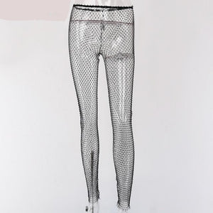 Diamond Mesh Pants