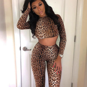 Cheetah Two-piece set