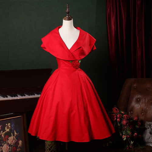 50s rockabilly pinup dress