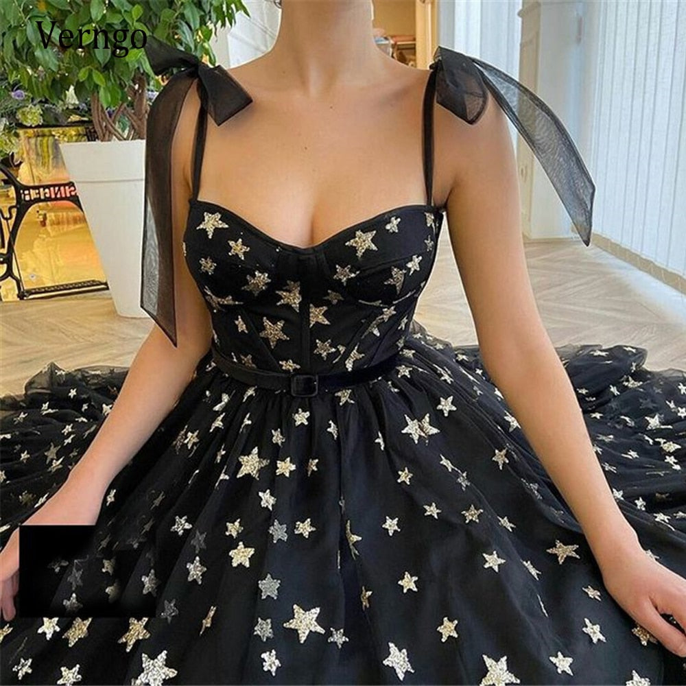 Starry Tulle Dresses