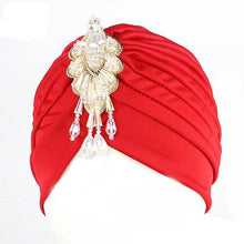Load image into Gallery viewer, Luxury Divas Stretchable turban