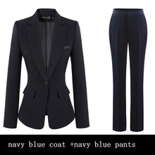 Load image into Gallery viewer, Women's Professional Four-piece Single Breasted Pant Suit