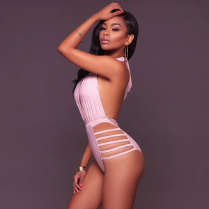 Sexy Women's One-piece Bikini Push Up Backless  Swimsuit