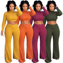 Load image into Gallery viewer, 2019 Two-Piece African American Inspired Women's Wide Leg Trousers