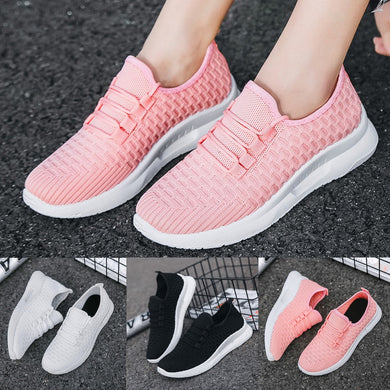 Women's Outdoor Walking Shoes Fashion Running Sneakers Breathable Mesh Sport Shoe