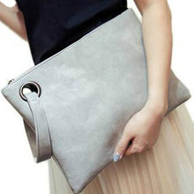 Load image into Gallery viewer, Women's Clutch Leather Bag Women