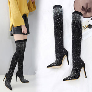 2019 Women's Thigh High Boots