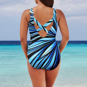 MISSOMO Women's Summer Sexy  Push Up One Piece Swimsuit