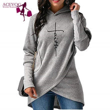 Load image into Gallery viewer, Faith Women's Pullover Hoodie S-XXXL Two Styles
