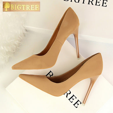 Women's Pointed Toe Fashion High Heel Shoes