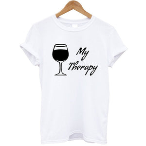 Wine My Therapy T-Shirt