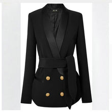 Load image into Gallery viewer, Women's Business Pant Suits Long-sleeve Blazer And Pants or Skirt Suit