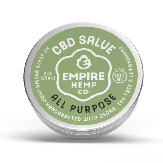 Empire Hemp Co. - All Purpose CBD Salve 2oz 800mg