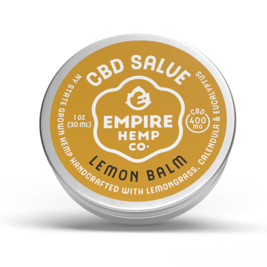 Lemon Balm Hemp CBD Salve 1oz 400mg