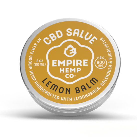 Lemon Balm Salve with CBD 2oz 800mg