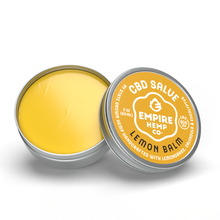 Load image into Gallery viewer, Empire Hemp Co. - Lemon Balm Hemp CBD Salve 1oz 400mg