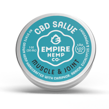 Load image into Gallery viewer, Empire Hemp Co. - Muscle and Joint CBD Salve 1oz 400mg