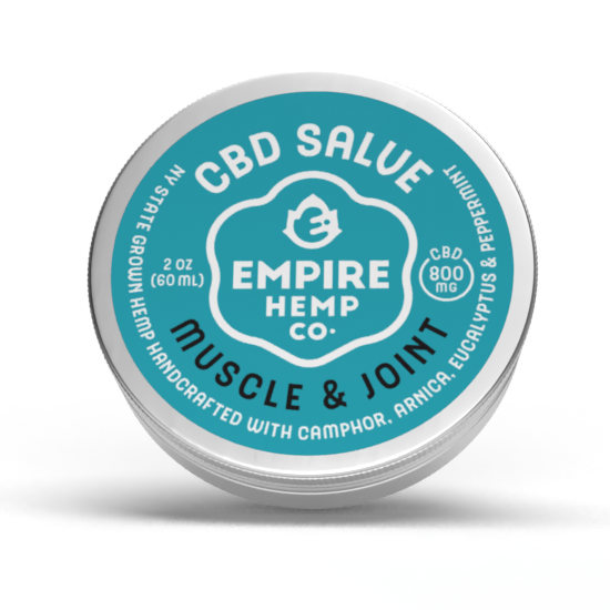 Muscle and Joint CBD Salve 2oz 800mg