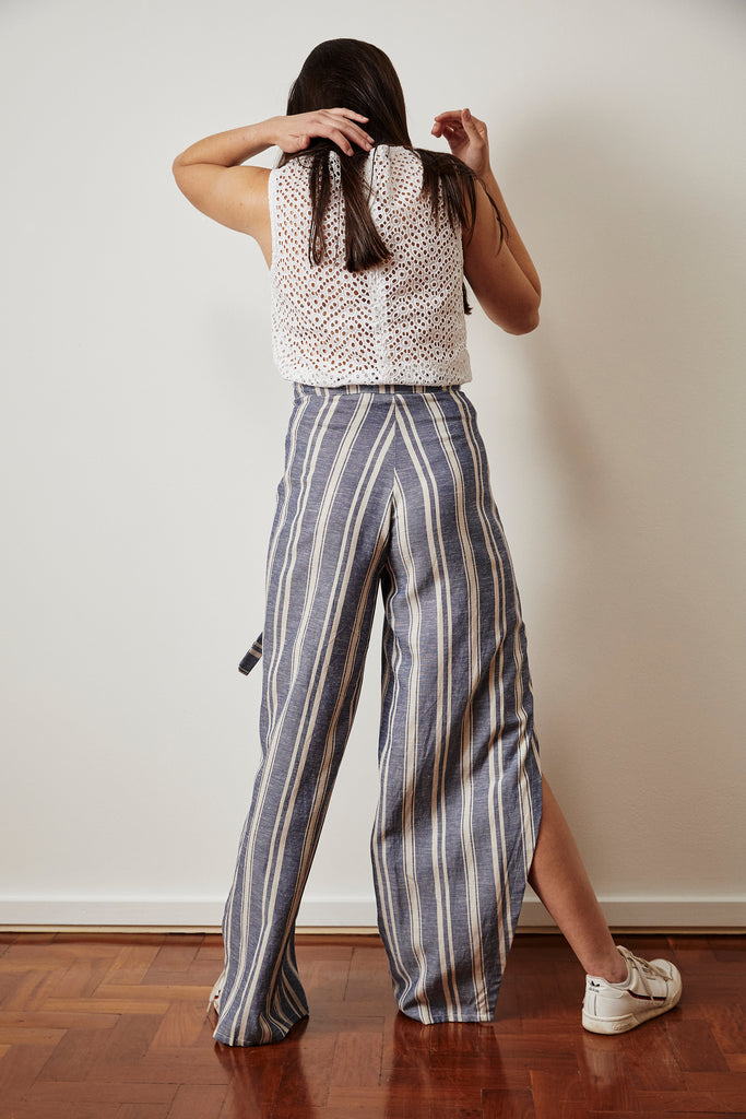 Brit Striped Pants