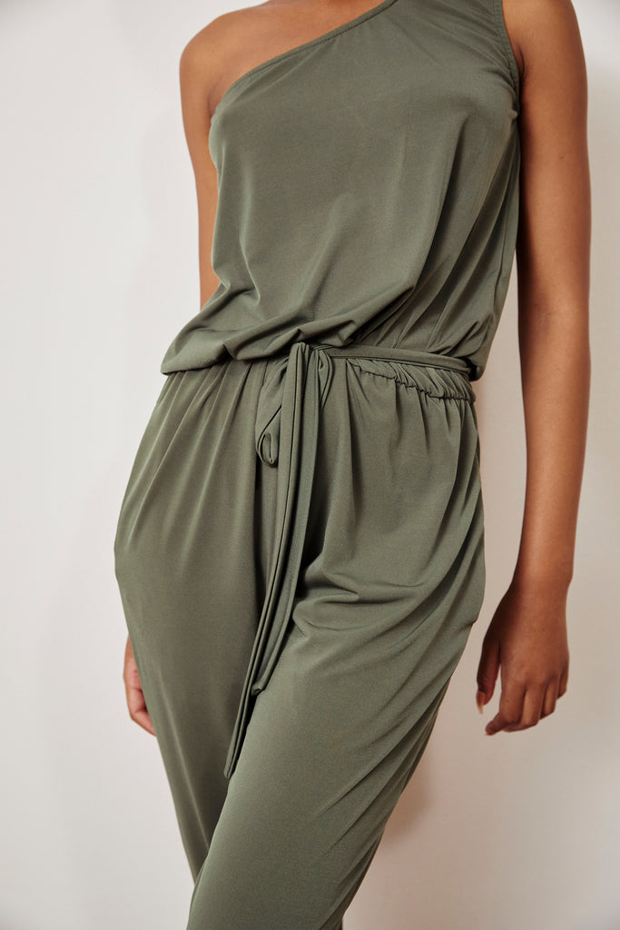 Bree Off Shoulder Jumpsuit
