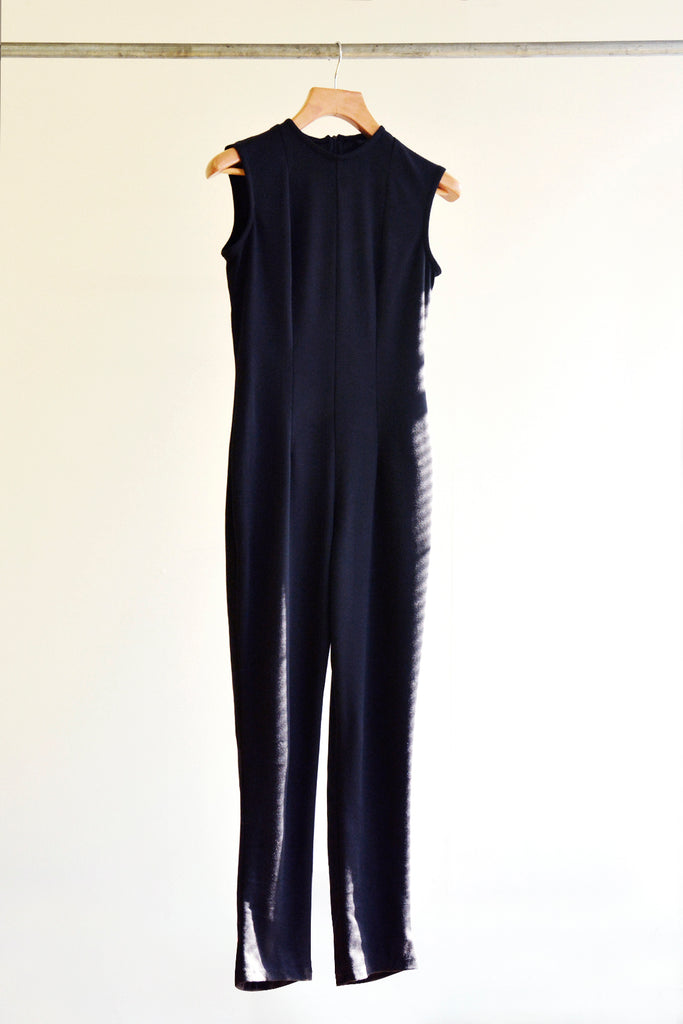 Black Shell Jumpsuit