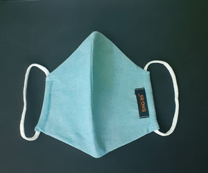 A pack of 1000 SHG-95 - 100% Cotton + Special Filter (PFE 96.7 at 0.3 micron, BFE 99%) Washable, Reusable INR 70/mask (incl. GST) MRP INR 90/mask (incl. GST)
