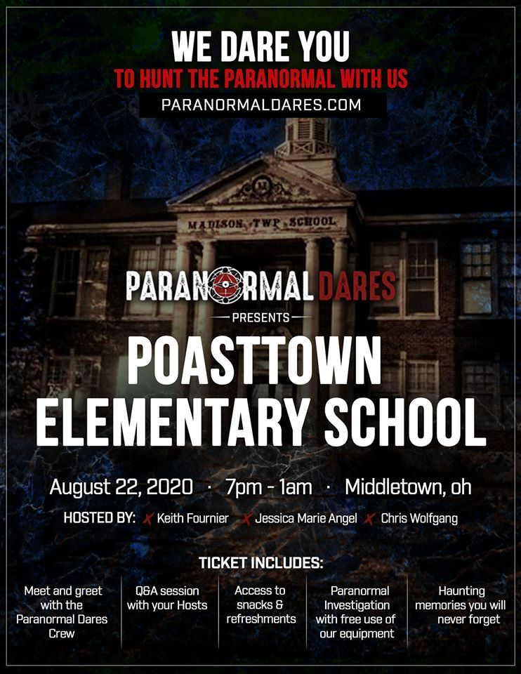 Ghost Hunt - Poasttown Elementary School - Aug 22nd, 2020