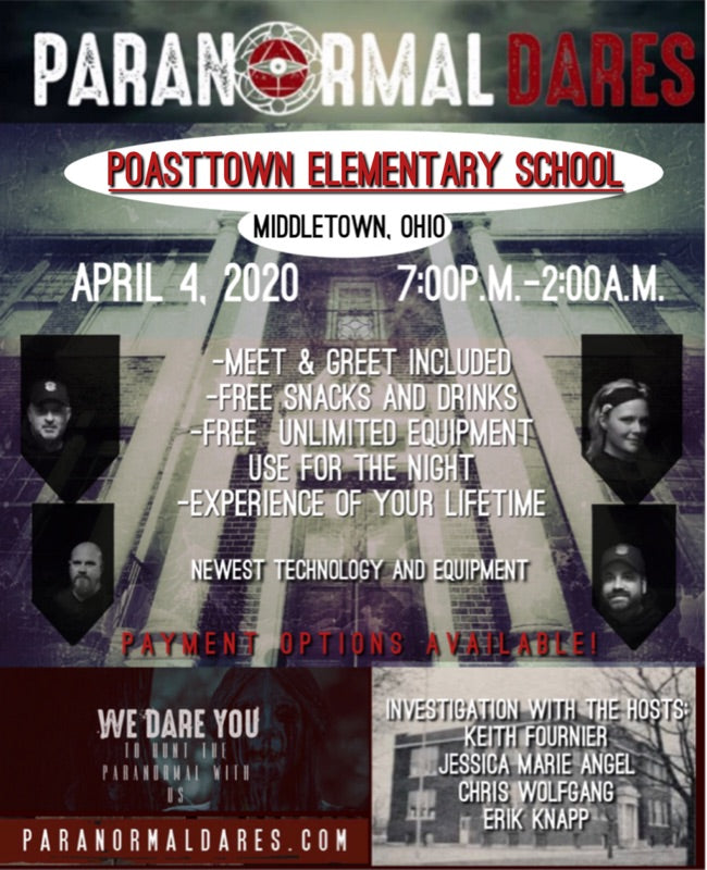 Ghost Hunt - Poasttown Elementary School - April 4, 2020